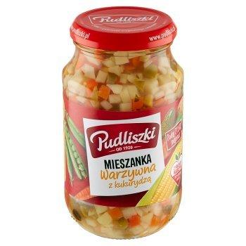 Pudliszki Mieszanka warzywna z kukurydzą 450 g (1)
