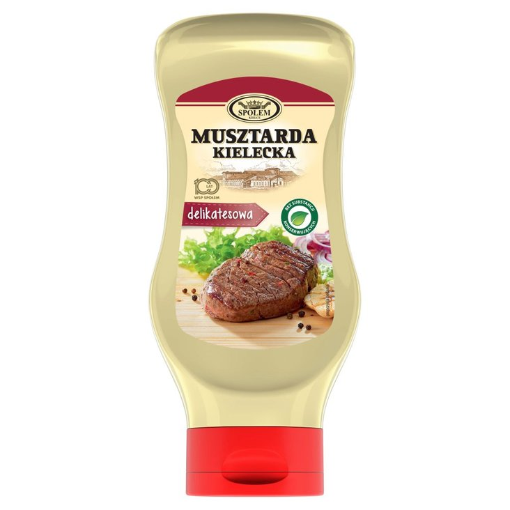 Musztarda Kielecka delikatesowa 500 g (1)