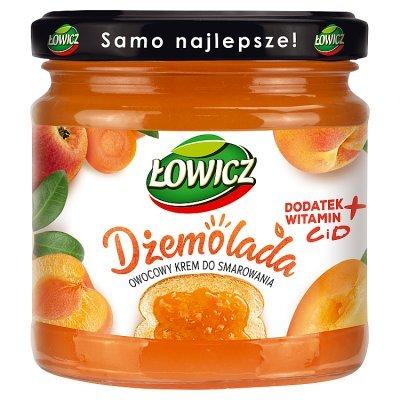 Łowicz Dżemolada Owocowy krem do smarowania pomarańczowy 200 g (1)