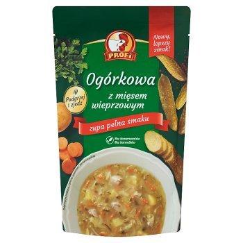 Profi Ogórkowa z mięsem wieprzowym 450 g (1)