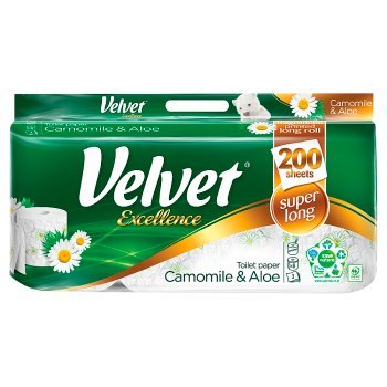 Velvet Excellence Camomile & Aloe Papier toaletowy 8 rolek (2)