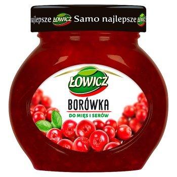 Łowicz Borówka do mięs i serów 230 g (1)