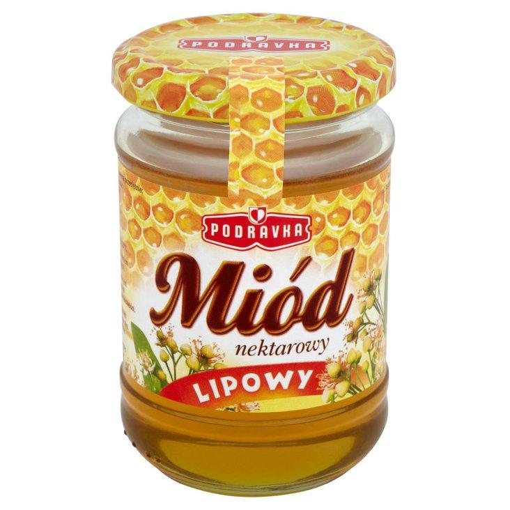 Podravka Miód nektarowy lipowy 350 g (1)
