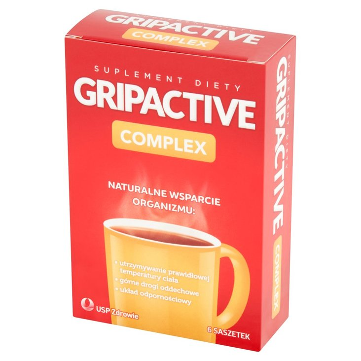 Gripactive Complex Suplement diety 18 g (6 saszetek) (1)