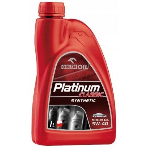 ORLEN PLATINUM CLASSIC 5w40 1L olej syntetyczny (1)