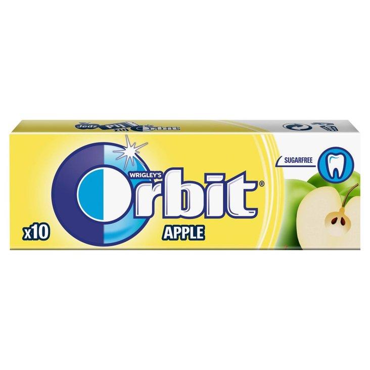 Orbit Apple Guma do żucia bez cukru 14 g (10 drażetek) (1)