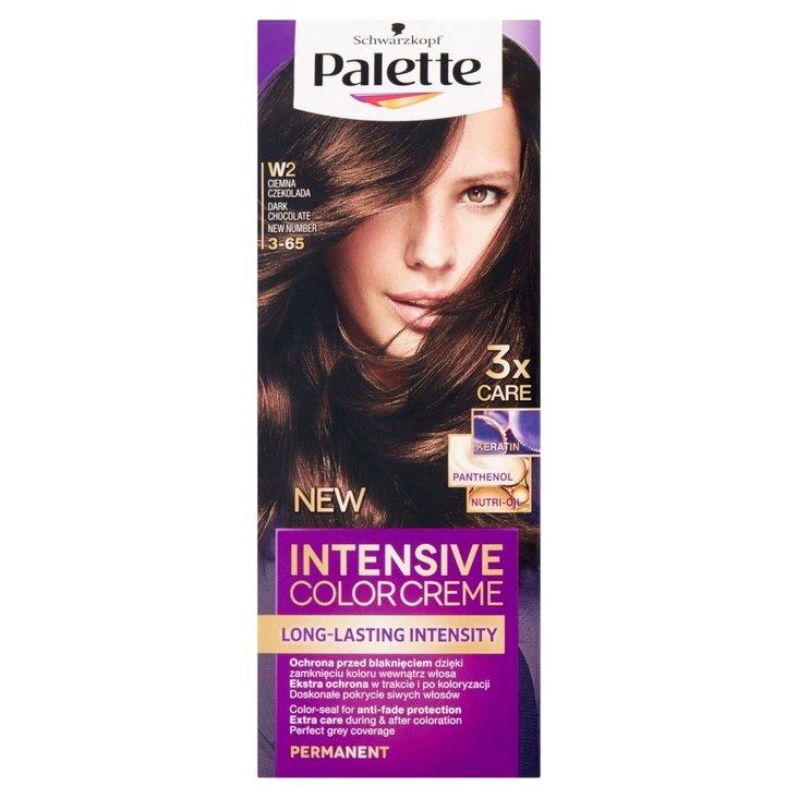 Palette Intensive Color Creme Farba do włosów ciemna czekolada W2 (3-65) (2)
