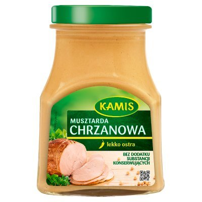 Kamis Musztarda chrzanowa 185 g (1)