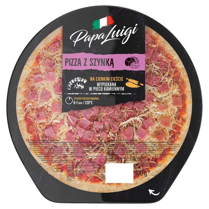 Papa Luigi Pizza z szynką 400 g (1)