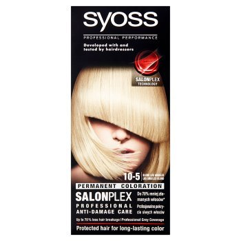 Syoss SalonPlex Farba do włosów Blond Los Angeles 10-5 (2)
