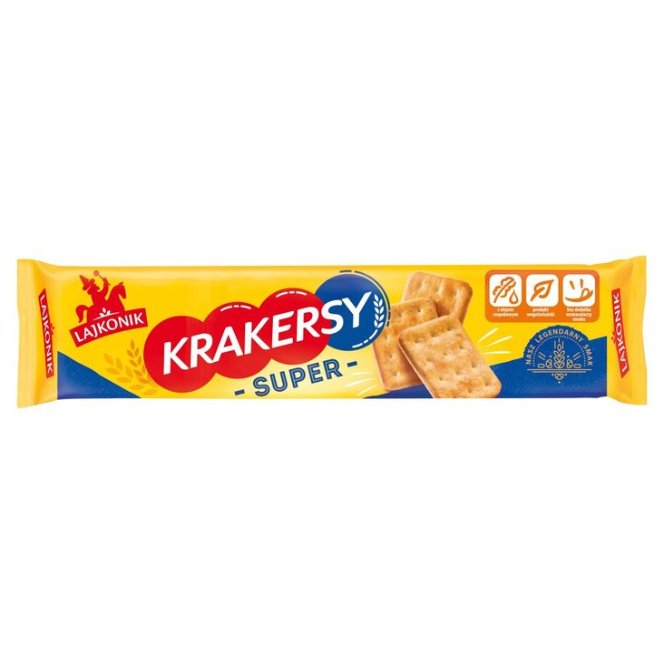 Lajkonik Krakersy Super 180 g (1)