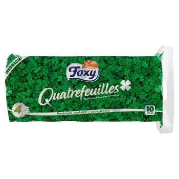 Foxy Quatrefeuilles Papier toaletowy cztery warstwy 10 sztuk (2)