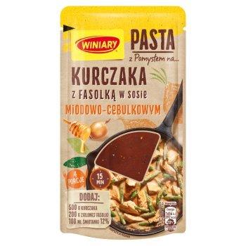Winiary Pasta z pomysłem na... kurczaka z fasolką w sosie miodowo-cebulkowym 80 g (1)
