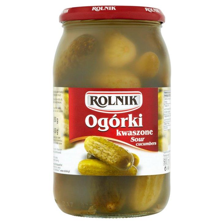 Rolnik Ogórki kwaszone 850 g (2)