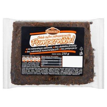 Oskroba Chleb żytni pełnoziarnisty pumpernikiel 250 g (1)