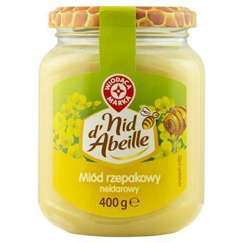 WM miód rzepakowy nektarowy 400g (1)