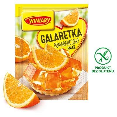 Winiary Galaretka pomarańczowy smak 71 g (1)