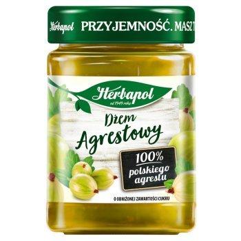 Herbapol Dżem agrestowy o obniżonej zawartości cukru 280 g (1)