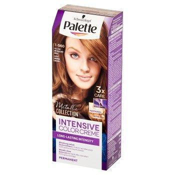 Palette Intensive Color Creme Farba do włosów prażony metaliczny brąz 7-560 (1)