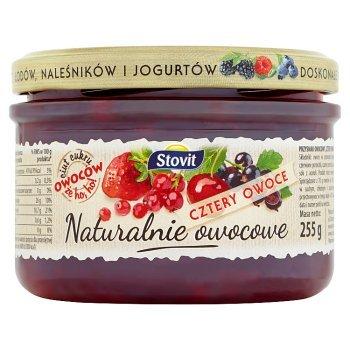 Stovit Naturalnie owocowe cztery owoce 255 g (2)
