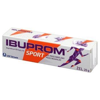 Ibuprom Sport 50 mg/g Żel 20 g (1)