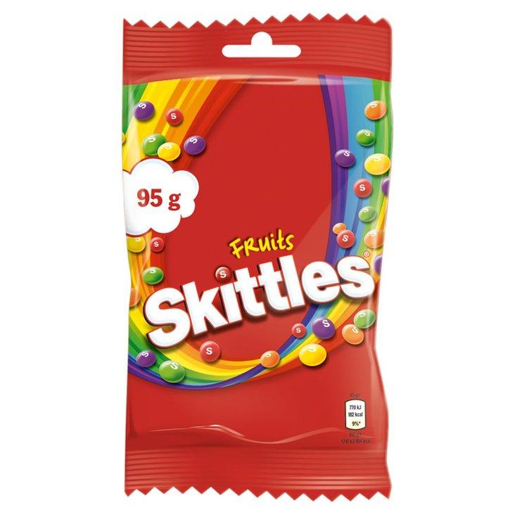Skittles Fruits Cukierki do żucia 95 g (1)