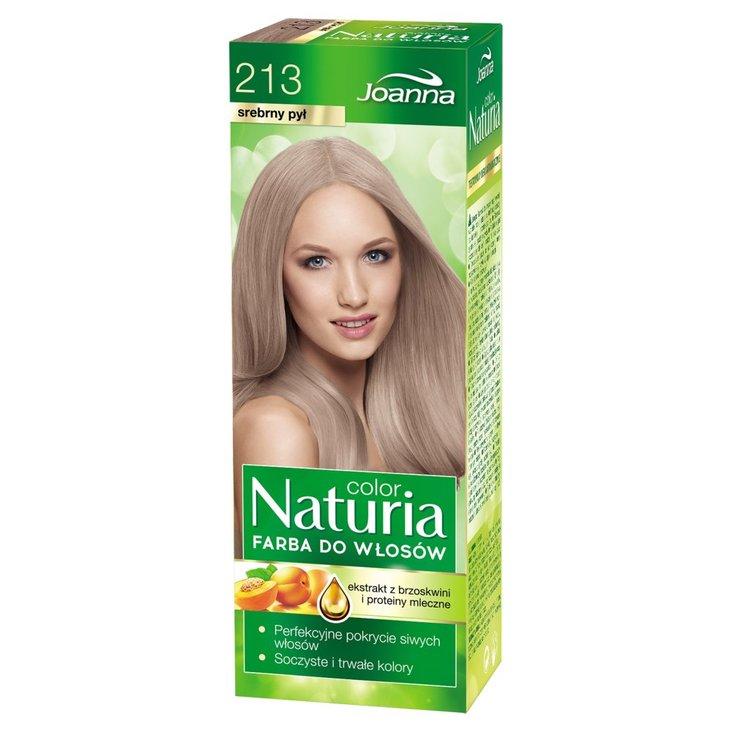 Joanna Naturia color Farba do włosów srebrny pył 213 (1)