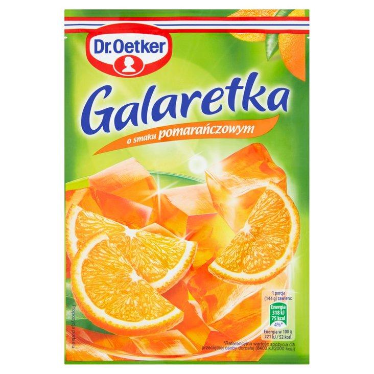 Dr. Oetker Galaretka o smaku pomarańczowym 77 g (2)