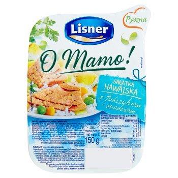 Lisner O Mamo! Sałatka hawajska z tuńczykiem i ananasem 150 g (2)