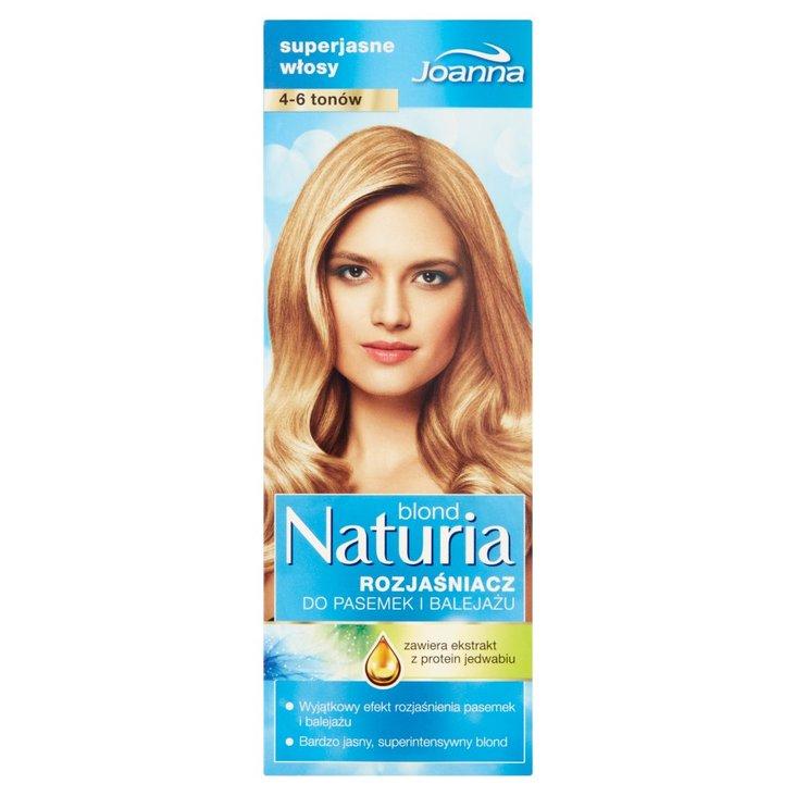 Joanna Naturia blond Rozjaśniacz do pasemek i balejażu 4-6 tonów (2)