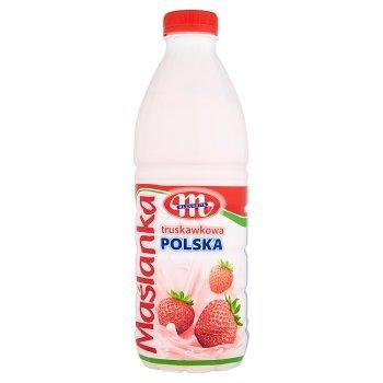 Mlekovita Maślanka Polska truskawkowa 1 kg (1)