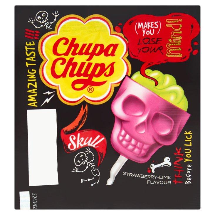 Chupa Chups Lizak o smaku truskawkowo-limonkowym 15 g (1)
