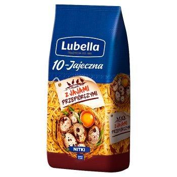Lubella 10-Jajeczna Makaron nitki 250 g (1)