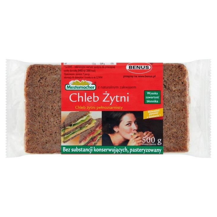Mestemacher Chleb żytni pełnoziarnisty 500 g (1)