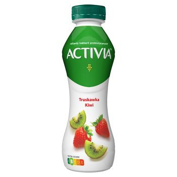 Activia Jogurt truskawka kiwi 300 g (1)
