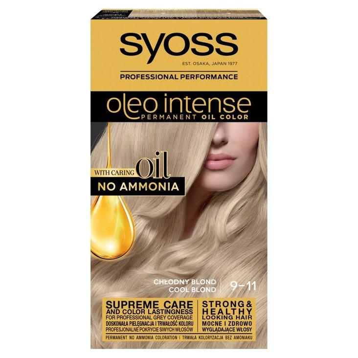 Syoss Oleo Intense Farba do włosów chłodny blond 9-11 (1)