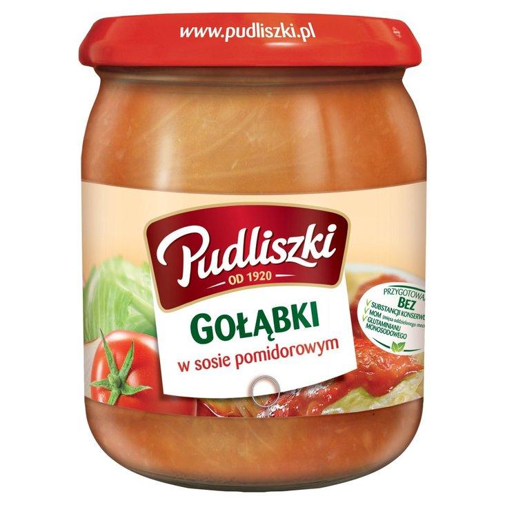 Pudliszki Gołąbki w sosie pomidorowym 500 g (1)
