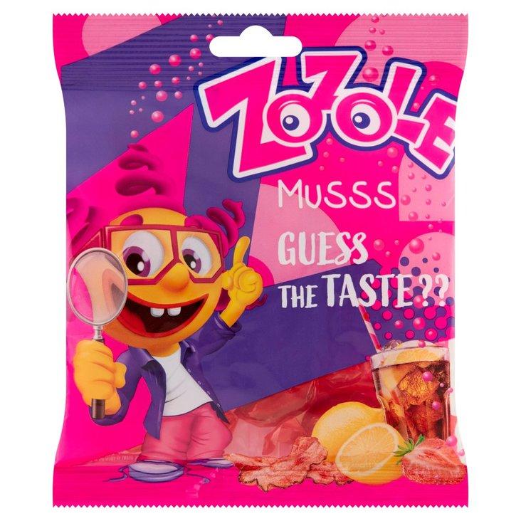 Zozole Musss Cukierki musujące o smaku cytrynowym coli truskawkowym i bekonu 75 g (1)