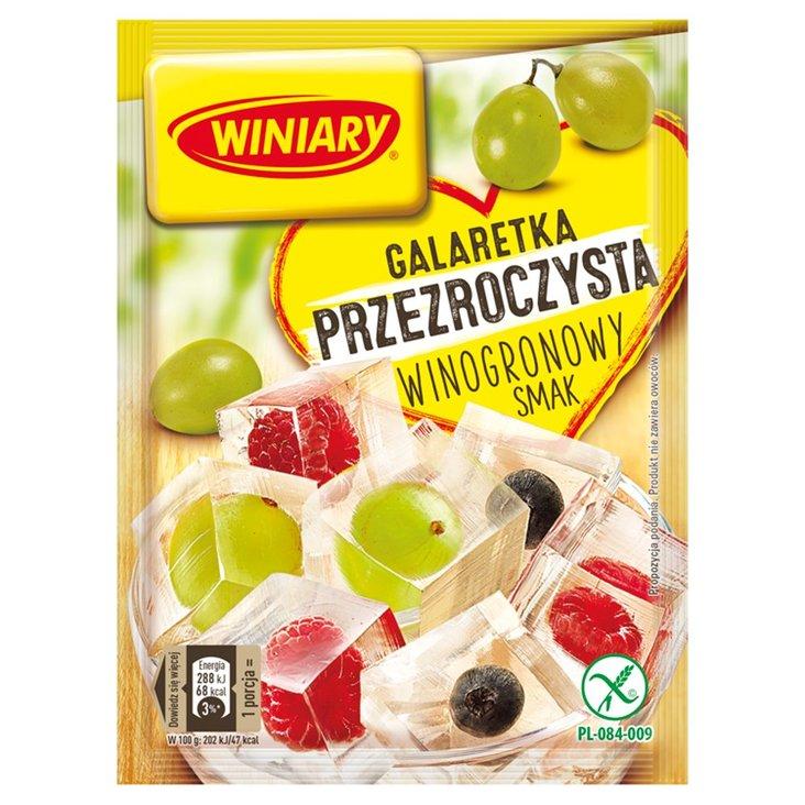 Winiary Galaretka przezroczysta winogronowy smak 71 g (2)