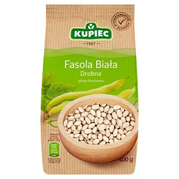 Kupiec Fasola biała drobna 400 g (1)