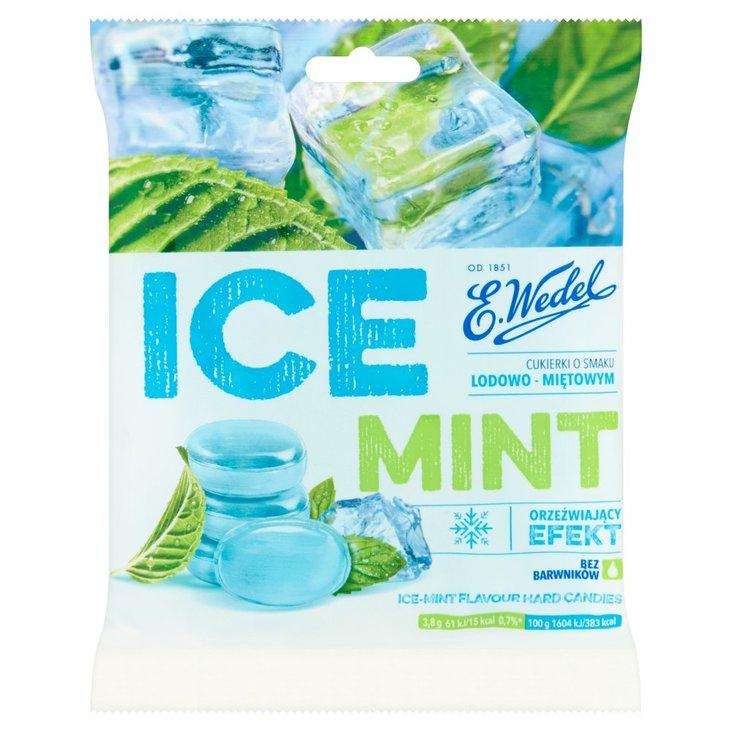E. Wedel Ice Mint Cukierki o smaku lodowo-miętowym 90 g (1)