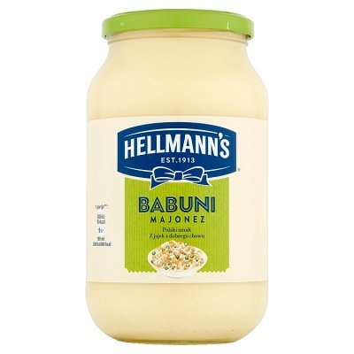 Hellmann's Babuni Majonez 650 ml (1)