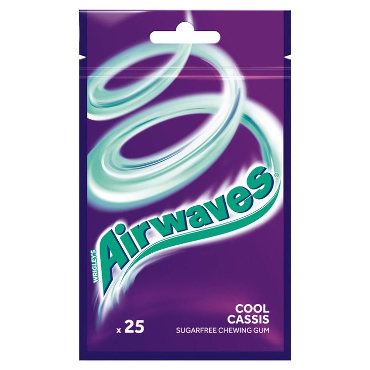 Airwaves Cool Cassis Guma do żucia bez cukru 35 g (25 drażetek) (2)