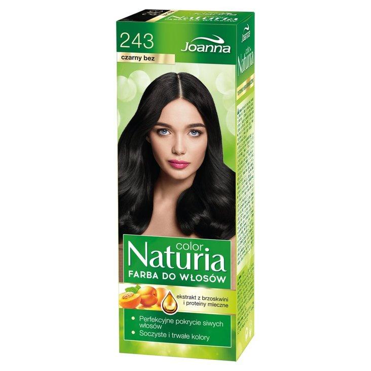 Joanna Naturia color Farba do włosów czarny bez 243 (1)