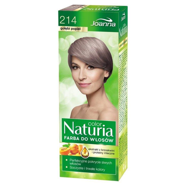 Joanna Naturia color Farba do włosów gołębi popiel 214 (1)
