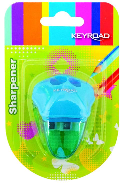 Keyroad Temperówka Plastikowa Podwójna Blister (1)