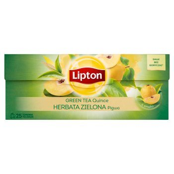 Lipton Herbata zielona pigwa 40 g (25 torebek) (2)