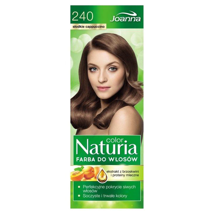 Joanna Naturia color Farba do włosów słodkie cappuccino 240 (2)