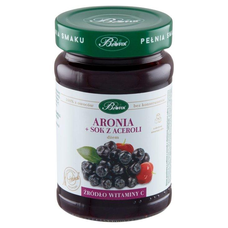 Bifix Dżem aronia + sok z aceroli 290 g (1)