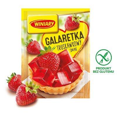 Winiary Galaretka truskawkowy smak 71 g (1)